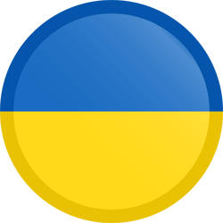 Cricle Ukraine Symbol Of Flag