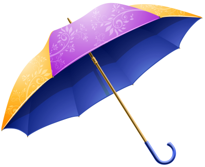 Umbrella Purple For Rain Clipart HD PNG Images