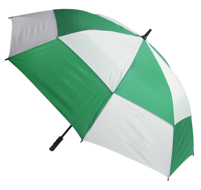 Umbrella Green And White Pattern PNG Images