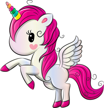 With Wings Pink Unicorn Transparent Picture icon Download PNG Images