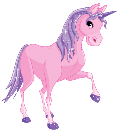 Pink Pony Unicorn Hd Background Picture, Cartoon illustration PNG Images