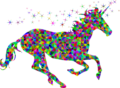Abstract Colorful Unicorn Png HD Photo PNG Images