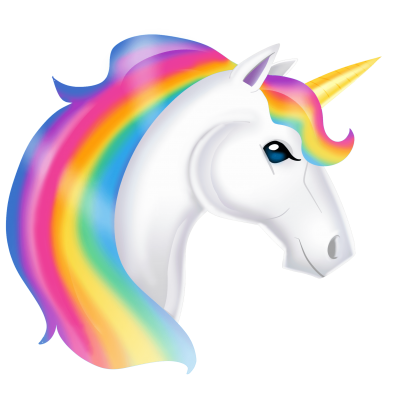 Rainbow Unicorn images Hd Clipart PNG Images