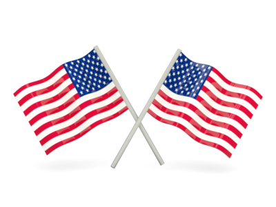 United States Flags Free Cut Out PNG Images