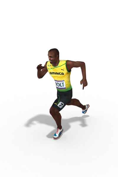 Usain Bolt Run Transparent PNG Images