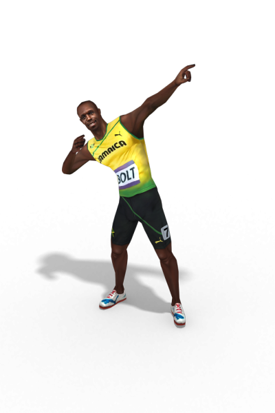 Usain Bolt Portrait HD Photo Png PNG Images