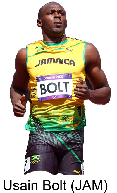 Usain Bolt Free Download Transparent PNG Images