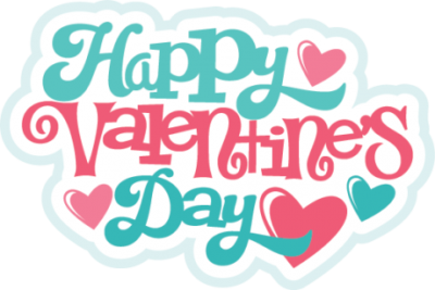 Colorful Valentines Day Sticker Clipart Transparent Download PNG Images