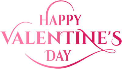 Pink Valentines Day Lettering Clipart Png images Free Download PNG Images