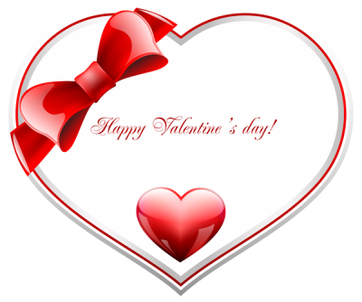Red Themed Valentines Day Message Clipart Transparent Free Download PNG Images