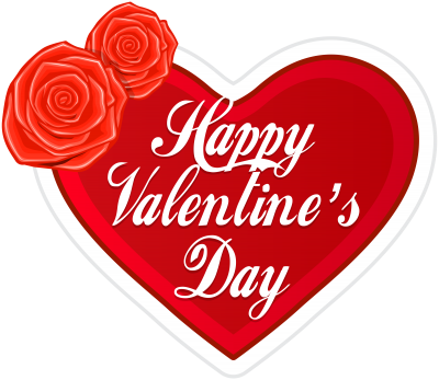 Fancy Valentines Day Background Transparent Png PNG Images