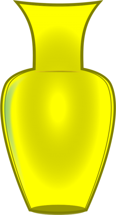 Yellow Vase Clip Art Png PNG Images
