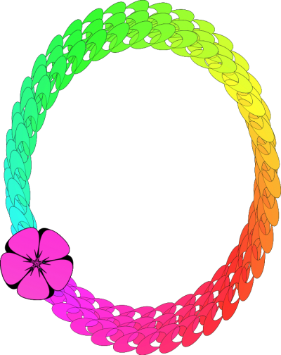 Circle Colorful Vector Frame Png