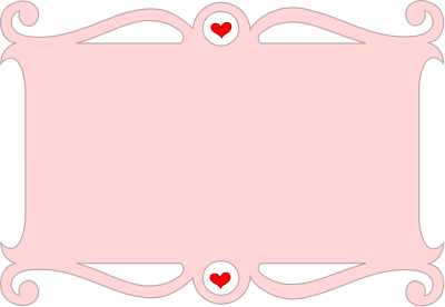 Heart, Vector Frame Png