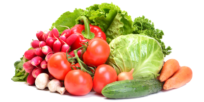 Fresh Vegetable Transparent Picture