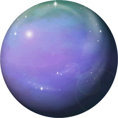 Planet Venus Png Purple Design PNG Images