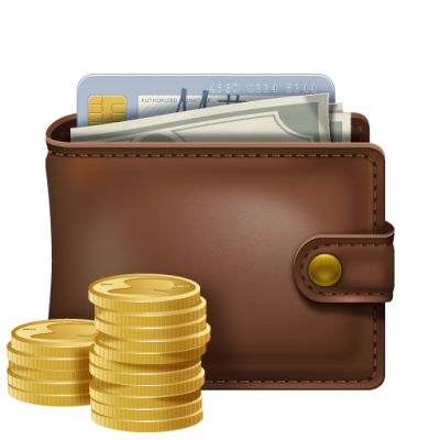 Card And Money Wallet Picture PNG Images