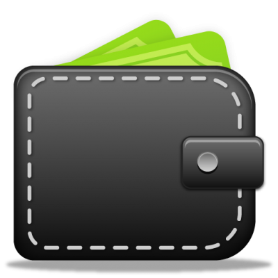 Blcak Wallet Transparent Png Icons PNG Images