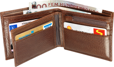 Bright Brown Wallet Images PNG