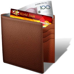 Wallet Brown PNG Images