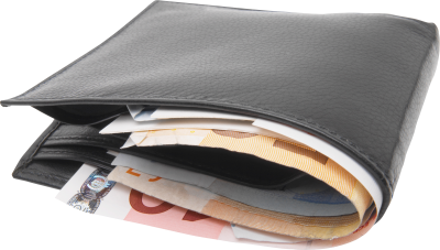 Full Of Money Wallet Clipart Photo PNG Images