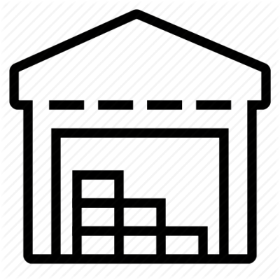 Warehouse Icon Clipart PNG Images