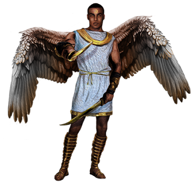 Angel Warrior Transparent Background