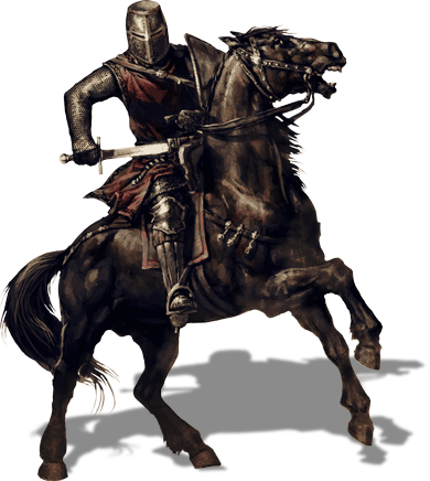 Warrior Horse Transparent PNG Images