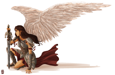 Women Angel Warrior Free Download