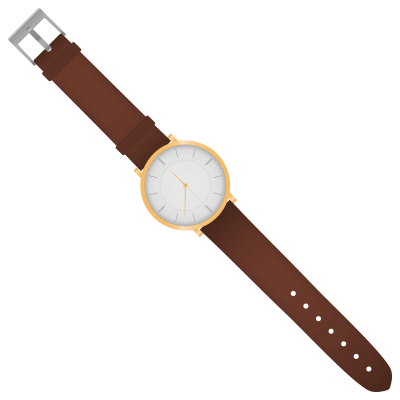 Elegant Classic Watch Icon Clipart PNG Images