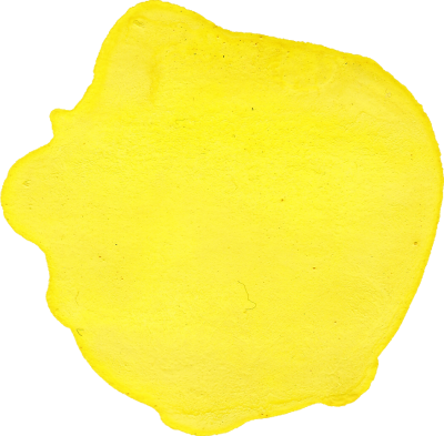 Yellow Round Watercolor Transparent Picture Hd Download PNG Images