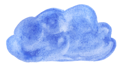 Watercolor Cloud illustration Png PNG Images