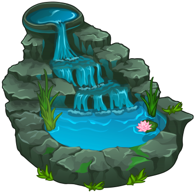 Waterfall Clipart Photo PNG Images
