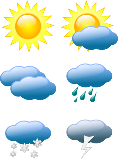 Hail, Storm, Weather Symbols Clip Art At Image