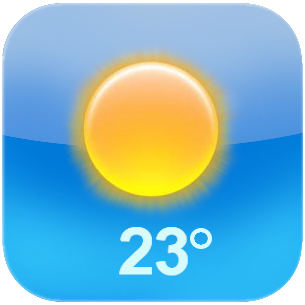 iphone Weather icon Png PNG Images