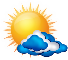 Sun, Cloud, Rain, Water, Lightning, Weather Report Png PNG Images