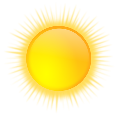 Weather icon Sunny Png PNG Images