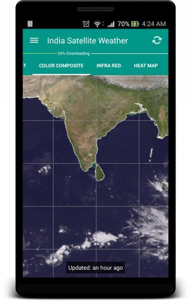 India Satellite Weather Android Pictures