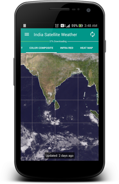 India Satellite Weather Images PNG Images