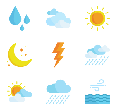 Vector Weather PNG Images