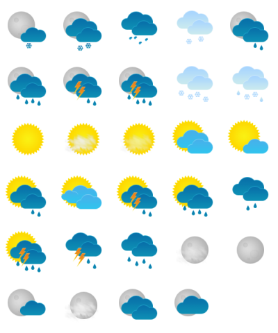 Weather Photo Clipart PNG Images