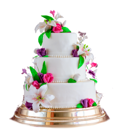 Fruity Wedding Cake Png Images