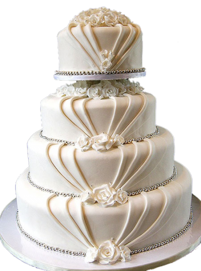 Light Beautiful Wedding Cake Png