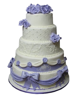 Purple Wedding Cake Png Images