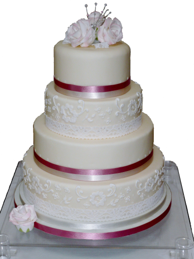 Simple Wedding Cake Png Transparent