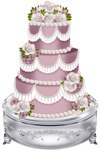 Wonderful Wedding Cake Png Images PNG Images