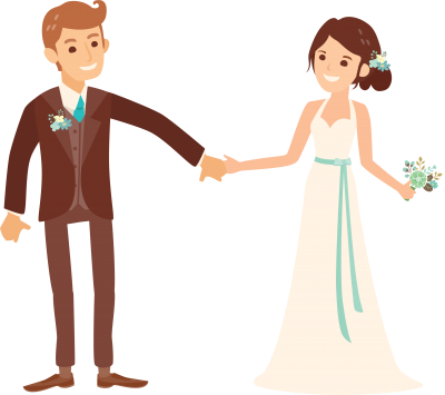 Wedding Couple Png PNG Images