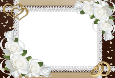 Wedding Frame Picture PNG Images