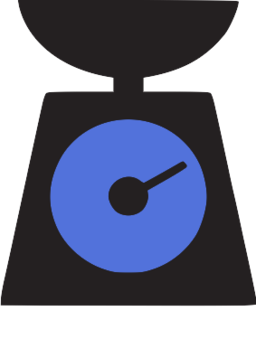 Kitchen, Scale, Weigh, Weight Scale Icon Png Image