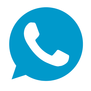Whatsapp Blue Logo Images Png